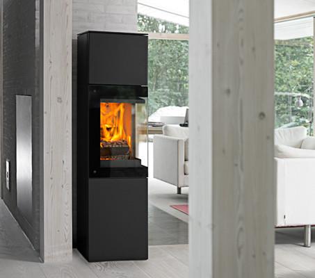 kaminofen jydepejsen panorama g nstig kaufen bei il camin. Black Bedroom Furniture Sets. Home Design Ideas